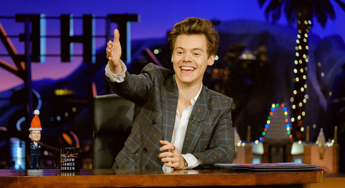 .@harry_styles filled in for @jkcorden on @latelateshow and he gets an A+ from us >> https://t.co/Jh2OQncp3J