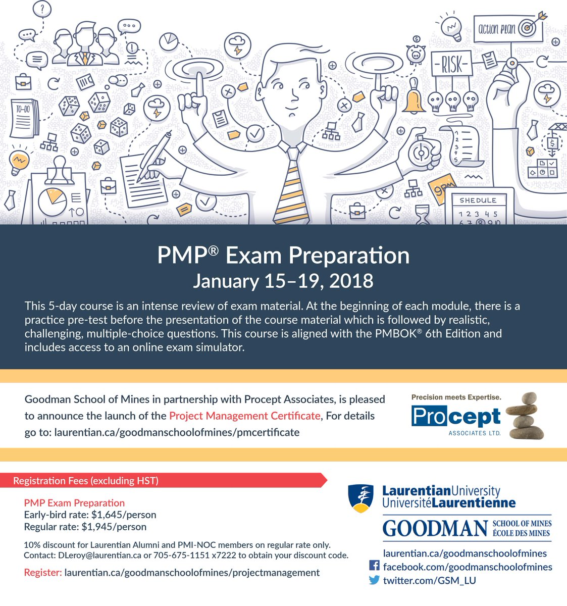 Gsm On Twitter Reminder Early Bird Registration For Upcoming Pmp