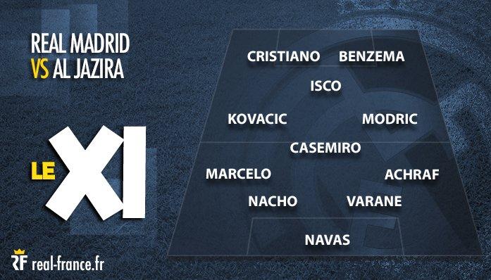 📋 Le #XI du Real Madrid