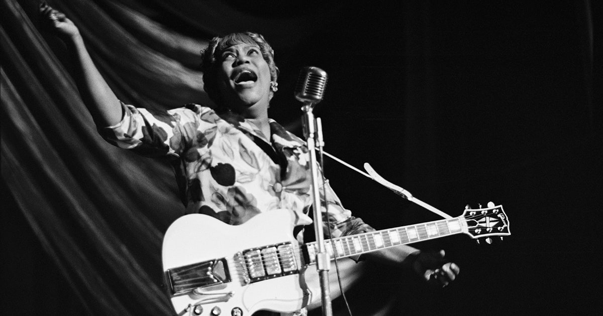 Why Sister Rosetta Tharpe belongs in the Rock and Roll Hall of Fame https://t.co/l0EQeHIUKz