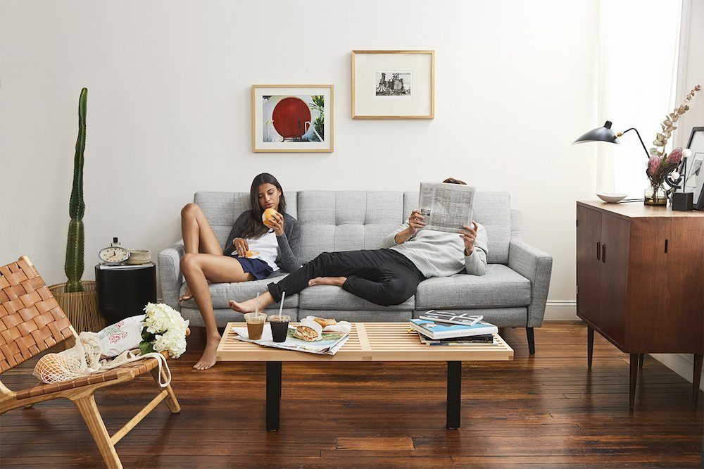 For modular sofas