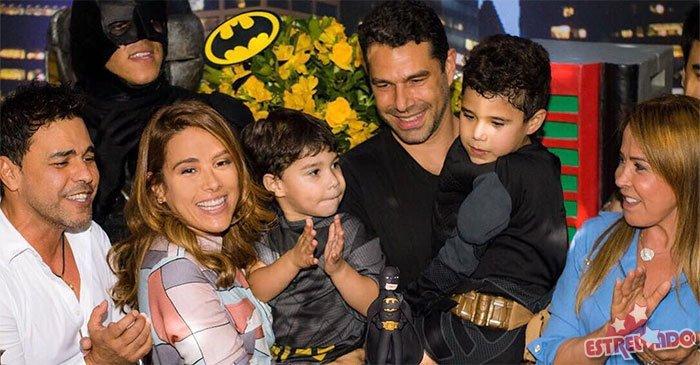 Zezé Di Camargo e Zilu se reencontram em festa do neto e ex-casal posa junto: https://t.co/PvNmNoXXPZ