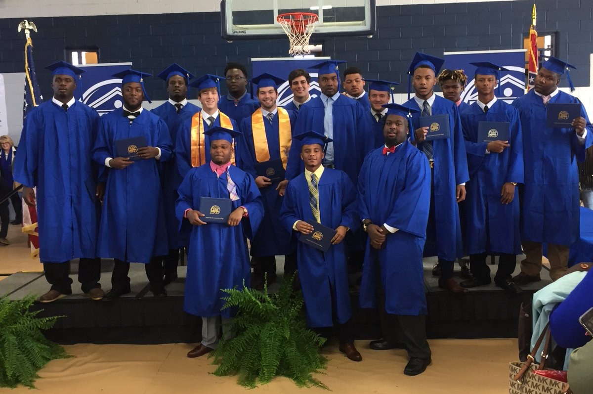 Congratulations to all of our football graduates! #ProudPack