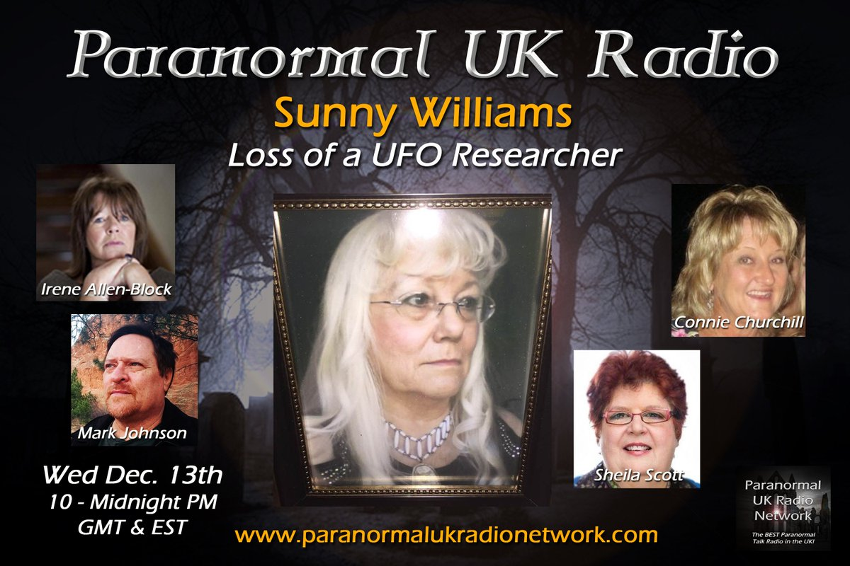 Paranormal UK Radio On Twitter Tonight We Have A Very Special PAUK