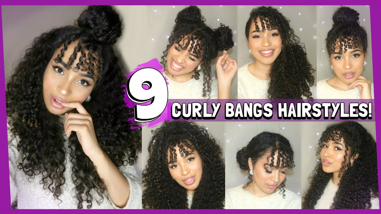 """Lana 🌺 on Twitter: """"9 Hairstyles for Curly Hair with a ..."""