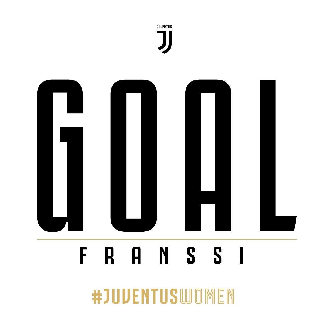 70' GOOOOOAAAAAALLLLLLL!!!!! FRANSSIIIIIIII!!!!!!  #JuventusWomen 1-0 Juventus Torino  🏳🏴 #CoppaItalia