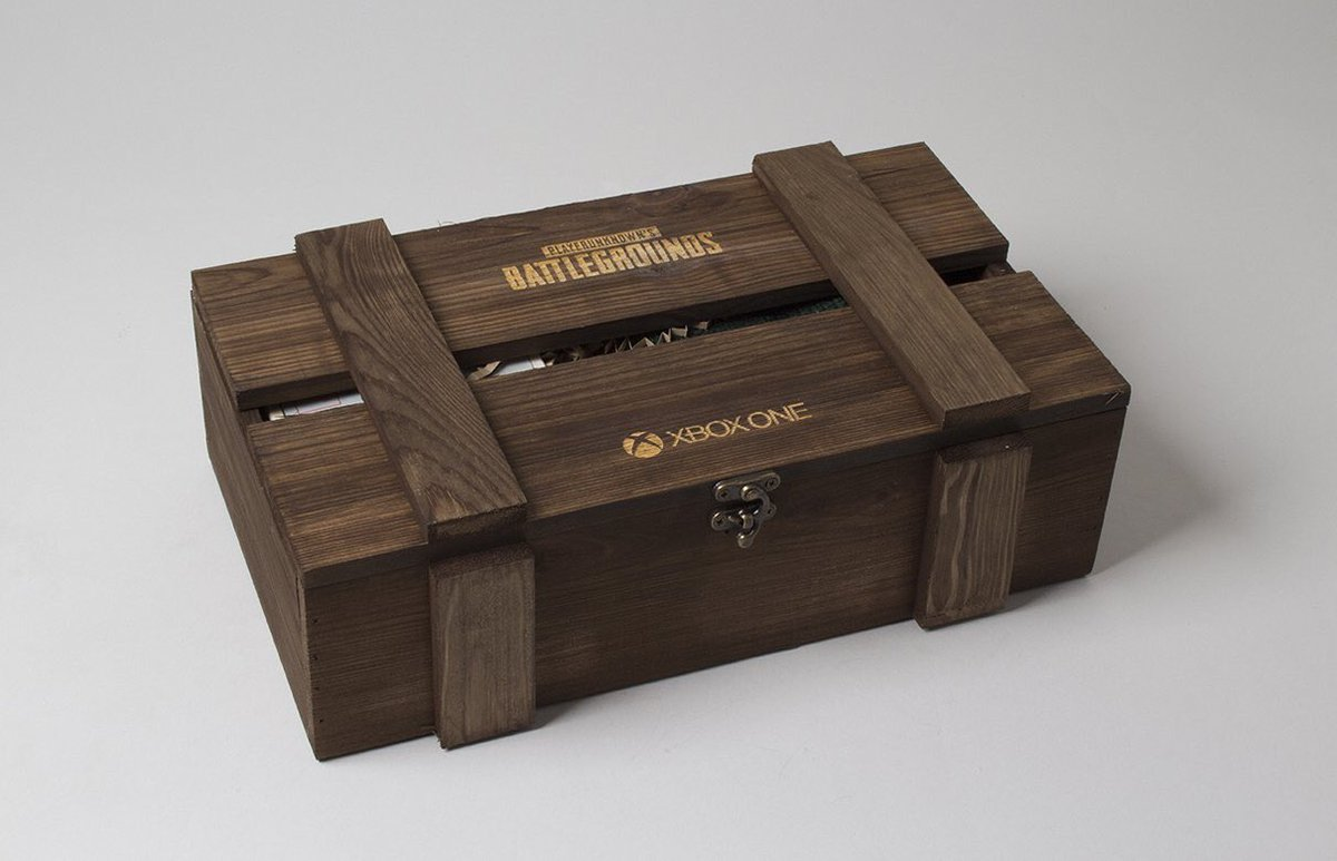 GIVEAWAY - I&#39;ve got an exclusive #PUBG #XboxOne crate to giveaway thanks to @xboxuk   1. RT to enter  2.Follow and on Instagram to double your chance!   https:// instagram.com/p/BccsegUnXN0/  &nbsp;    Winner announced Wednesday 20th 6pm GMT, good luck!!! <br>http://pic.twitter.com/RFjw0zPivg