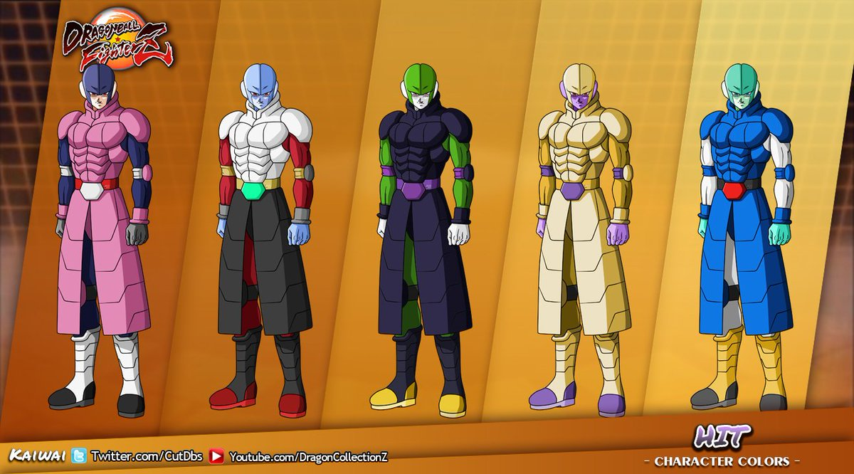 how to change color in dbfz