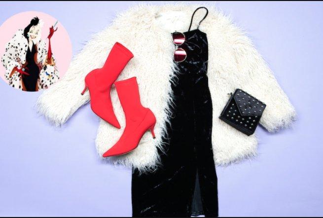Qué opinas de un look al estilo #CruellaDeVil para recibir la Navidad o el Año Nuevo. ¿Te animas?