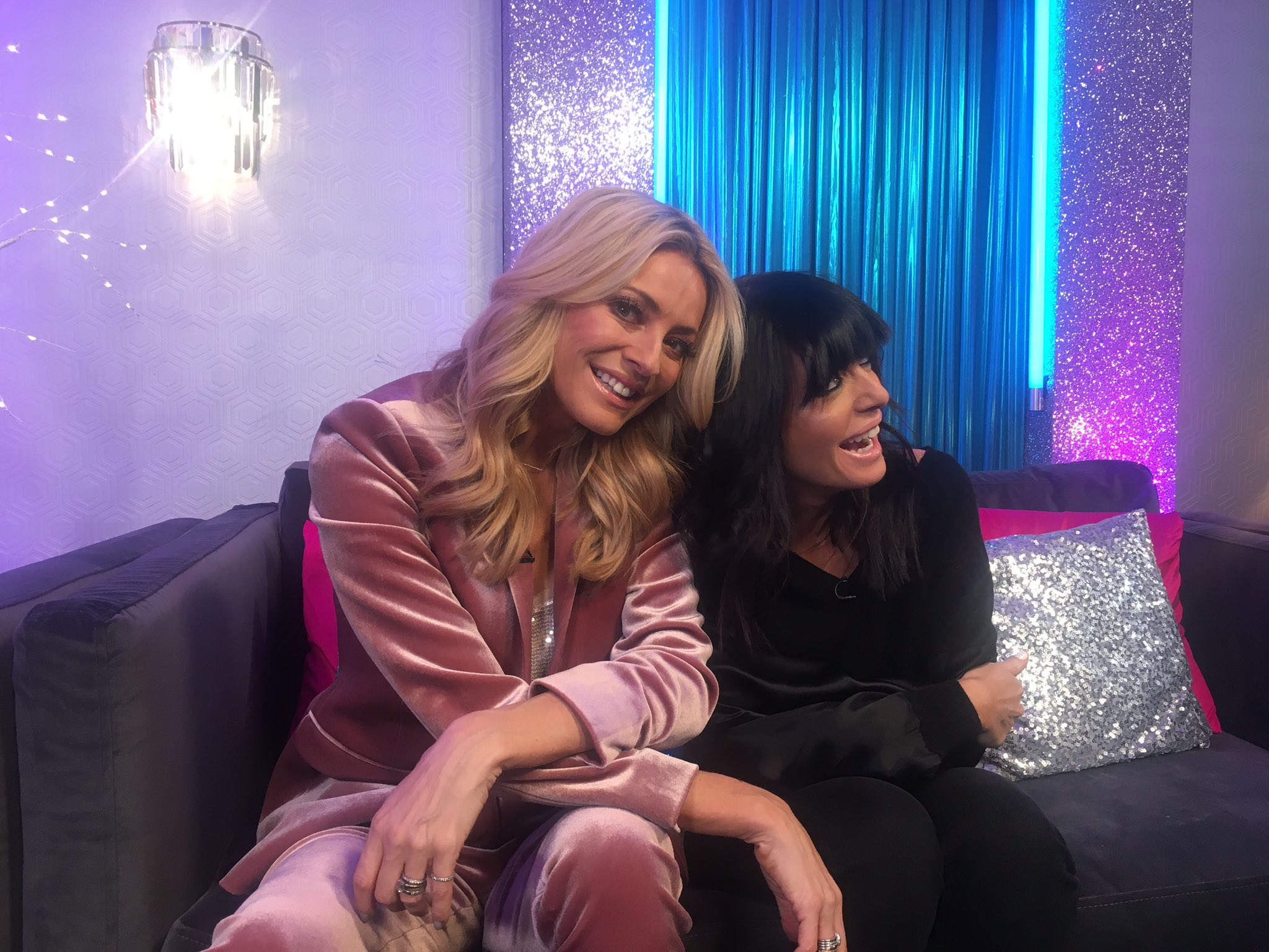 Tonight on #ItTakesTwo @TessDaly and @ClaudiaWinkle! Now @BBCTwo 👯 https://t.co/ofm97DZrXm