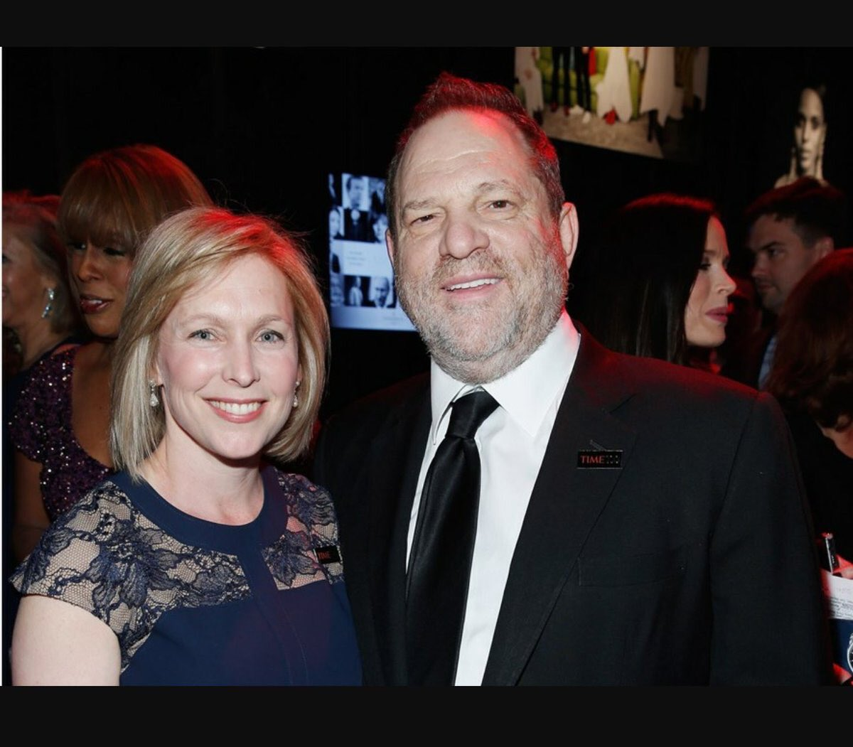 Hey @SenGillibrand how did things work out with Harvey?