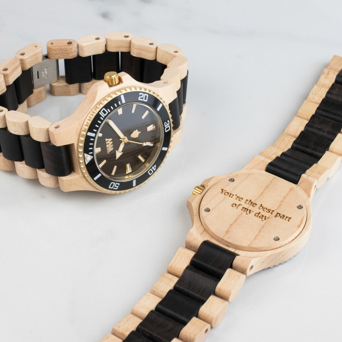 wooden see truwood black vid hawk watches products watch true with quartz wood m made sandalwood it styled