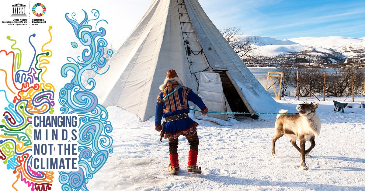 #Indigenous  knowledge of weather and climate is essential to address impacts o #climatechange #WeAreIndigenous #ChangingMindsNotTheClimate #OnePlanetSummitf   https://t.co/gVNyoh0TOv  ℹ️     @ClimateFron @iipfcct @UNDESAl @undesadspdi @UN4Indigenous @FAOKnowledgenes   , ,