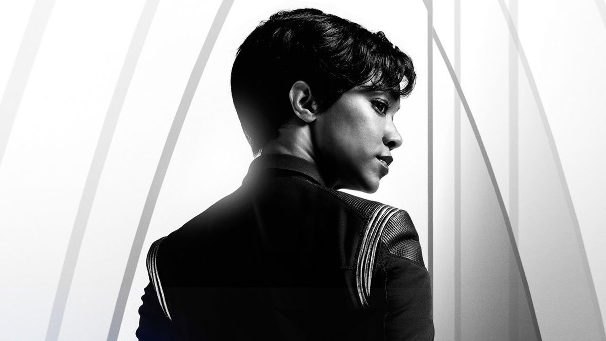 Check out these exclusive new @startrekcbs Discovery posters ahead of the show's return next month!  https://t.co/oZCFqA0NsY