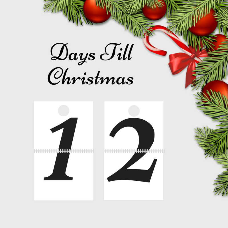 1112 am 13 dec 2017 - 12 Days Till Christmas