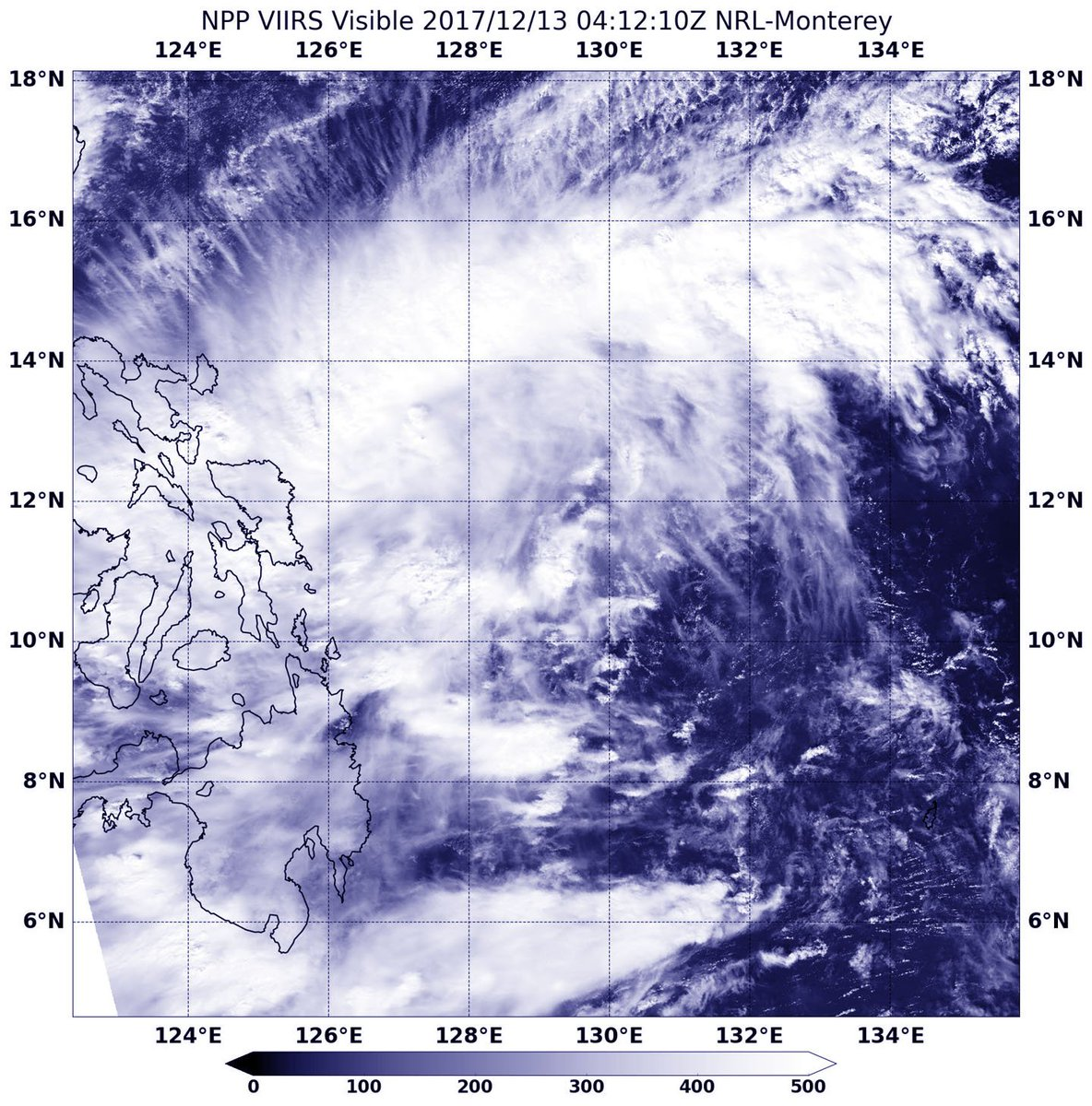 NW Pacific Ocean - NASA Sees Developing System 96W Affecting Central Philippines A developing area of tropical low pressure designated System 96W was affecting the central Philippines when NASA-NOAA's Suomi NPP satellite passed overhead. https://t.co/gZV4GxqHSc