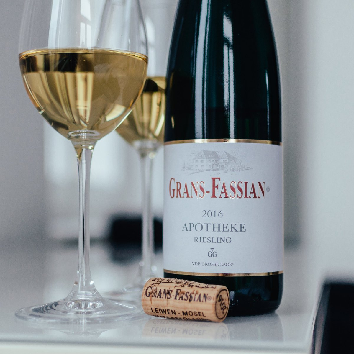 A great winery - we put a lot more attention on in the future - is #gransfassian from the #moselle  ... We are having their very good #trittenheimer #apotheke #riesling #grossesgewächs #2016 tonight . Tasting notes on Instagram  https:// instagram.com/p/Bcp14tunJod/  &nbsp;  <br>http://pic.twitter.com/M8PLbfcl4H