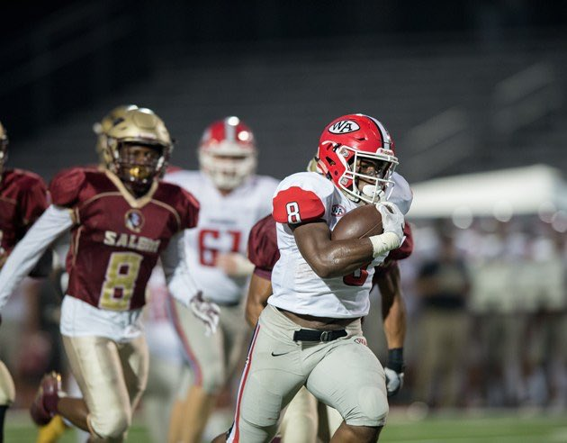 Tahj Gary  -  Class of 2019 RB -  Woodward Academy, College Park, GA (Photo Tahj Gary/Twitter)
