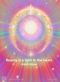 Beauty is a light in the heart  #quote Kahlil Gibran   #IAMChoosingLove  #WednesdayWisdom  #LUTL #JoyTrain