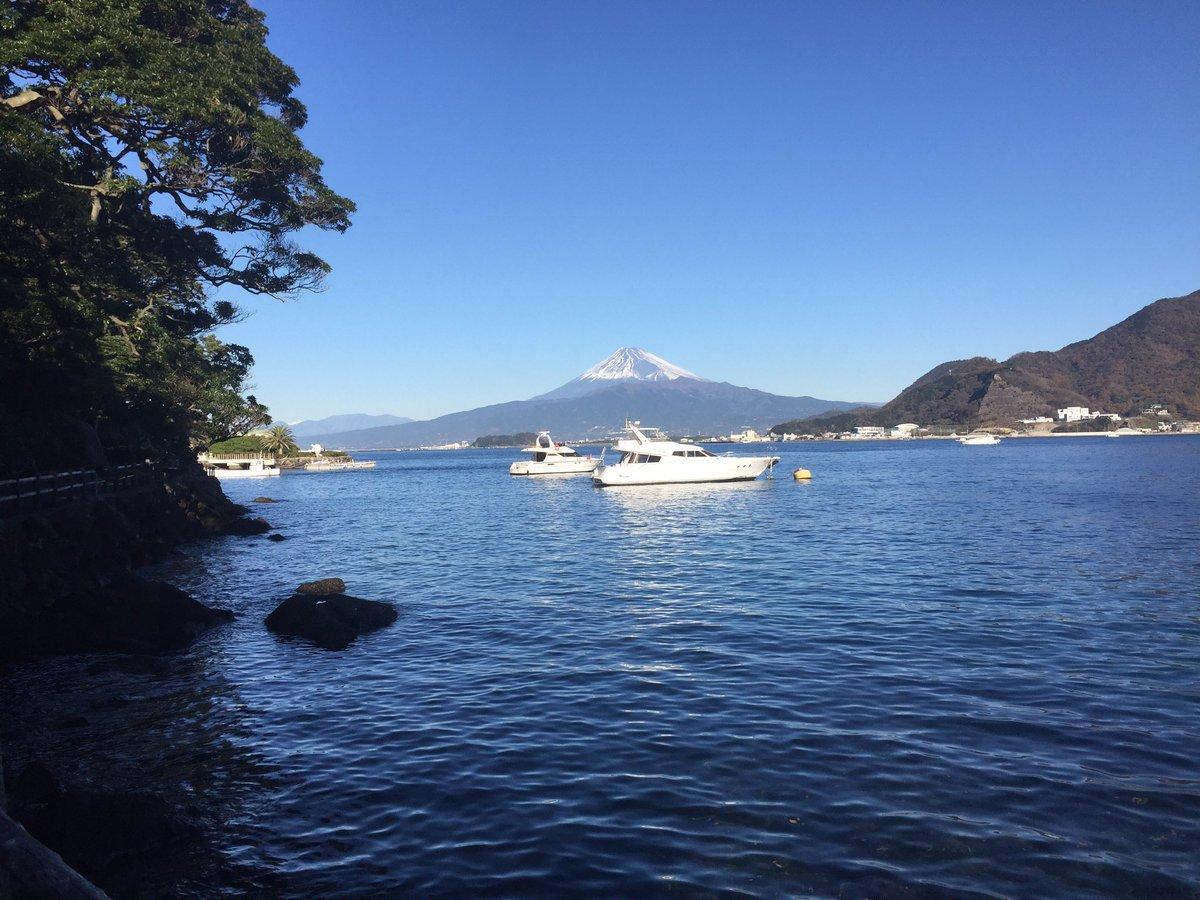 RT @A_shimatarou: おはようございます!12/14 淡島から富士山デス!  今日は可愛い動画を皆さんにお見せできると思います! 楽しみにしていて下さいね(*´˘`*)♡ https://t.co/Af4aI2OigT