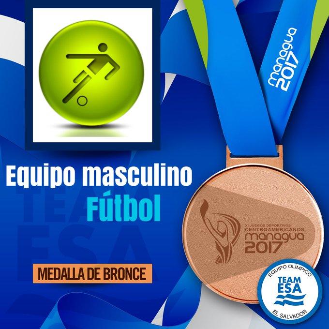 Sub21: Juegos Centroamericanos - Nicaragua 2017. [Medalla de Bronce] DQ95dnQVQAA2YYx