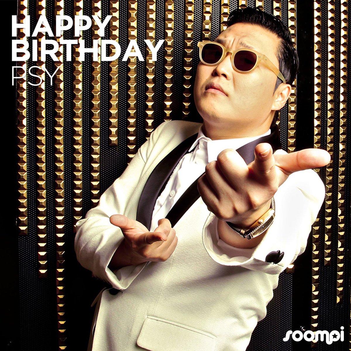 Happy Birthday to PSY! #HappyPSYDay! 🎉 C...