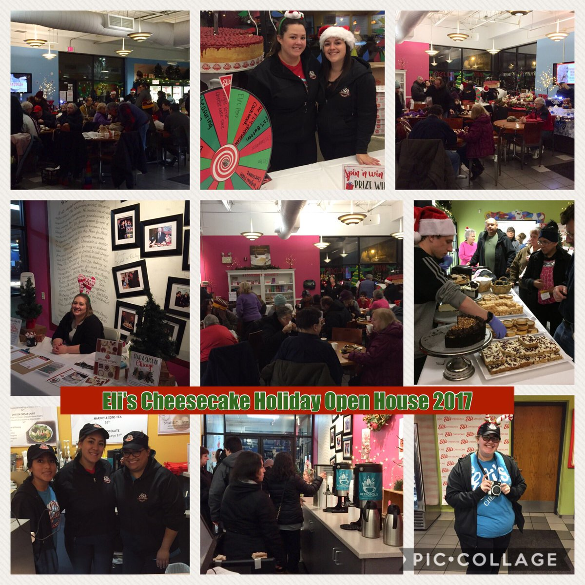 Shopping, dining and fun @ElisCheesecake Holiday Open House 2017 #Chicago