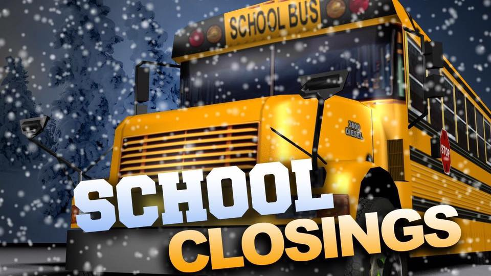 #SchoolClosings are starting to come in for Thursday, Dec. 14. LIST HERE: https://t.co/MNCBkXOM9b #snowday
