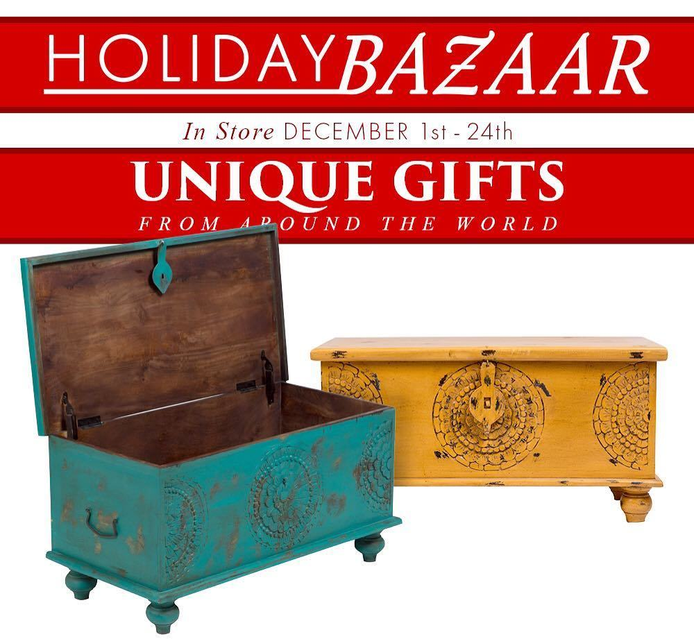 Furniture Connexion Is Having A Global Holiday Bazaar With Tons Of Goods  From Around The World. Find A Fun Selection Of Unique Gifts!