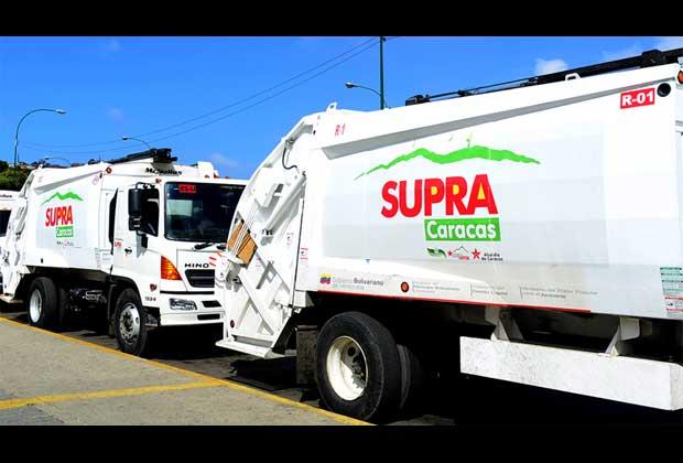 Supra recurre a camiones privados para r...