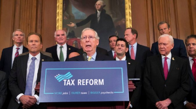 Senate plans to take up final tax bill Monday, pass it on Tuesday https://t.co/9CT1BYuCvK