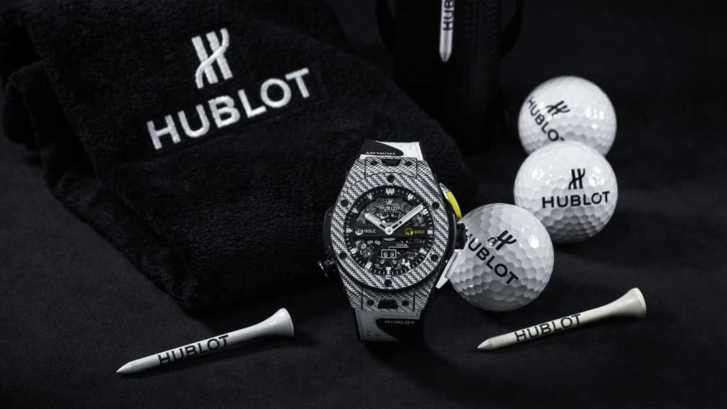 Check out the first ever @Hublot Golf watch! Definitely at the top of my Christmas wish-list! So proud to be an ambassador for the best watch company in the world! #Hublot