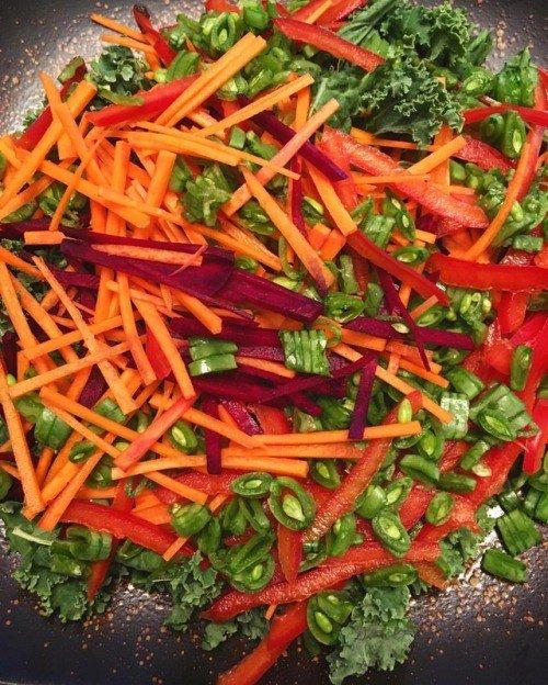 Now that's a salad! . . . #food #foodpor...