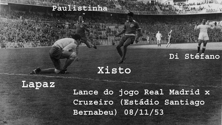 Dos times da capital gaúcha, quem não perdeu para o Real Madrid foi o glorioso CRUZEIRO DE PORTO ALEGRE, que segurou um 0x0 em 1953.
