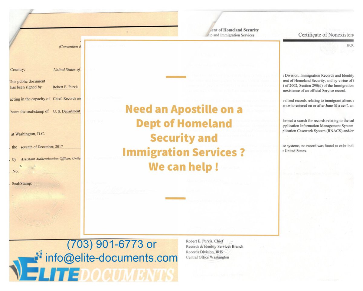 Elite documents apostille embassy serv elitedocs twitter apostille on a homeland security and immigration sevice document to be used in internationally need help we offer a 4 day turn around on federal aiddatafo Gallery