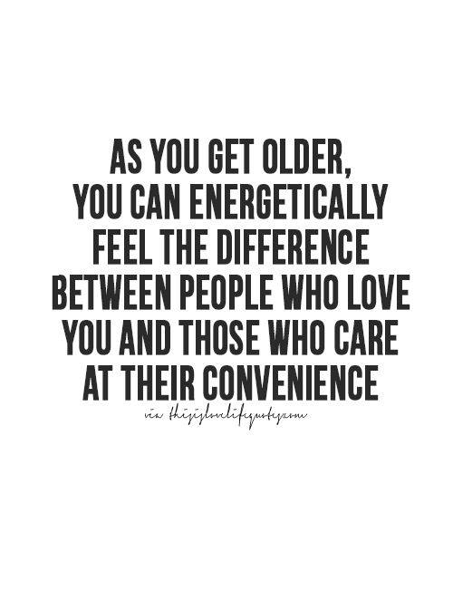 RT @CookieKL: I notice this a lot more who is real and who isn't~ #getolder #caring #love #people #fake #real https://t.co/Wqaxfyf6W3