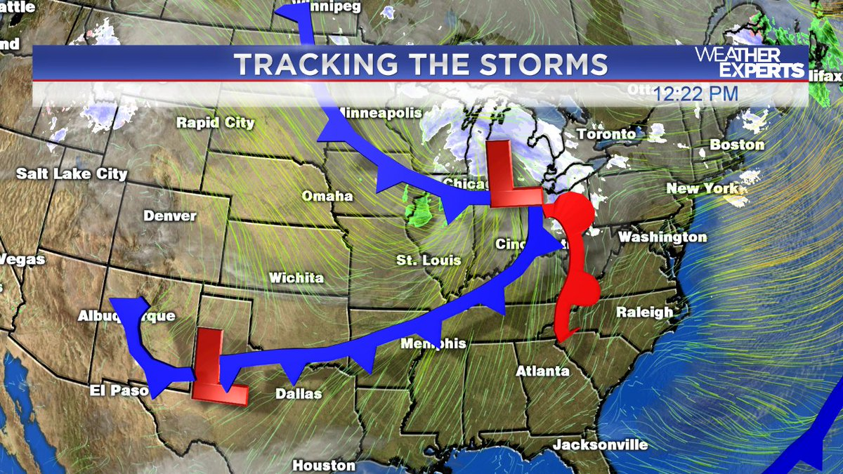Another couple of Cold fronts are coming thru the MidSouth in the next 24 hours.  See what that does to our forecast on News Channel 3 at 4, 4:30, 5, 6 & 10pm tonight.