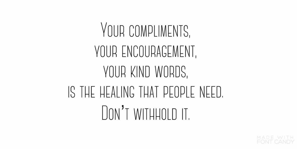 Your simple words can impact people's lives, don't withhold them. #ThursdayThoughts https://t.co/lKrodqYiLp