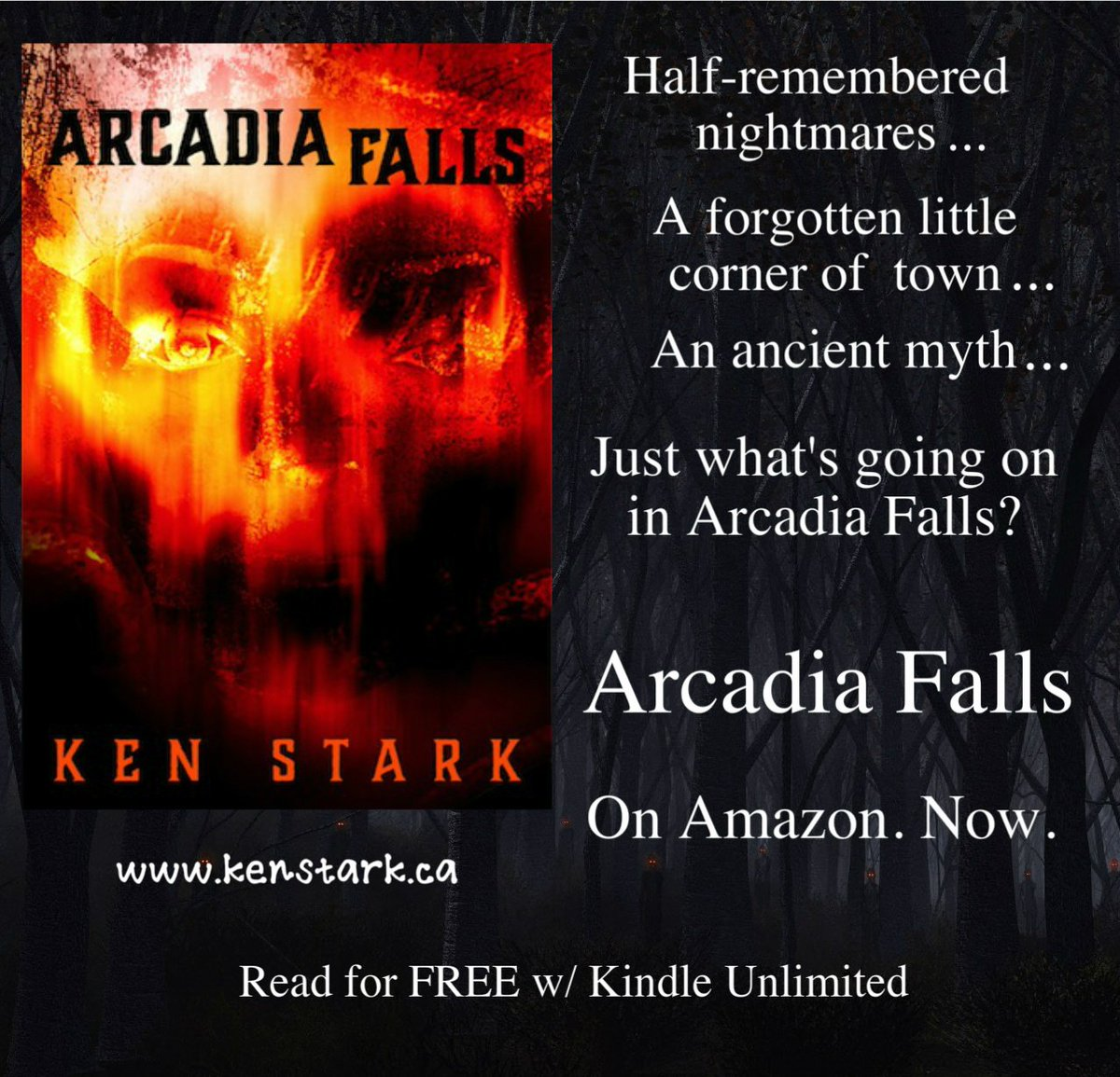 Maybe some things should just stay forgotten....  #horror #mystery #thriller #YABookPromo #new #indiebooks  #ArcadiaFalls #FREE w/ #KindleUnlimited   https://www. amazon.com/dp/B077VVQVL4/ ref=la_B01D911QC2 &nbsp; …  …<br>http://pic.twitter.com/UhFI6uwnGz