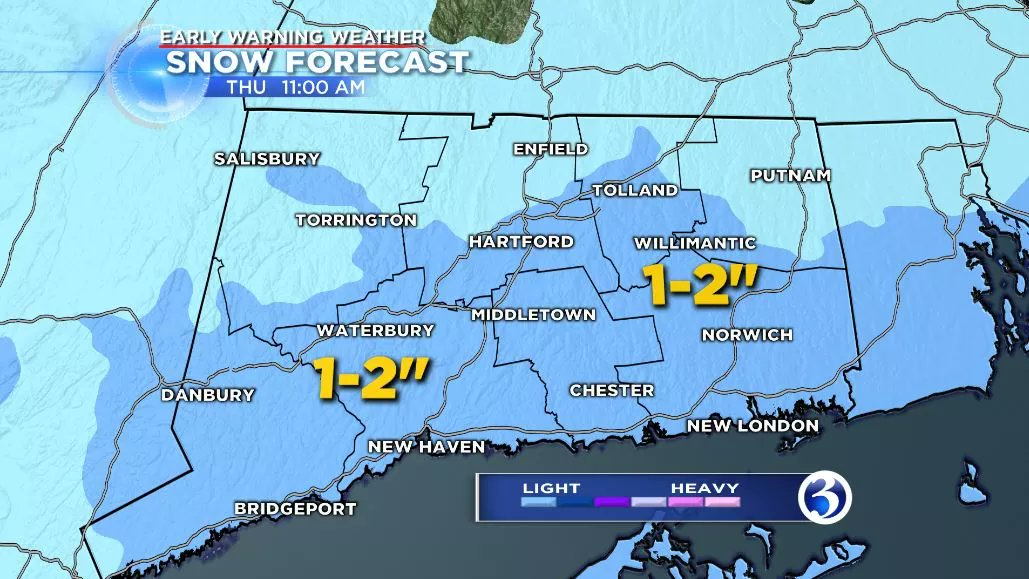 Today it was the cold and wind, tomorrow it will be more snow! How much and the timing, ahead on Channel 3 at 5!