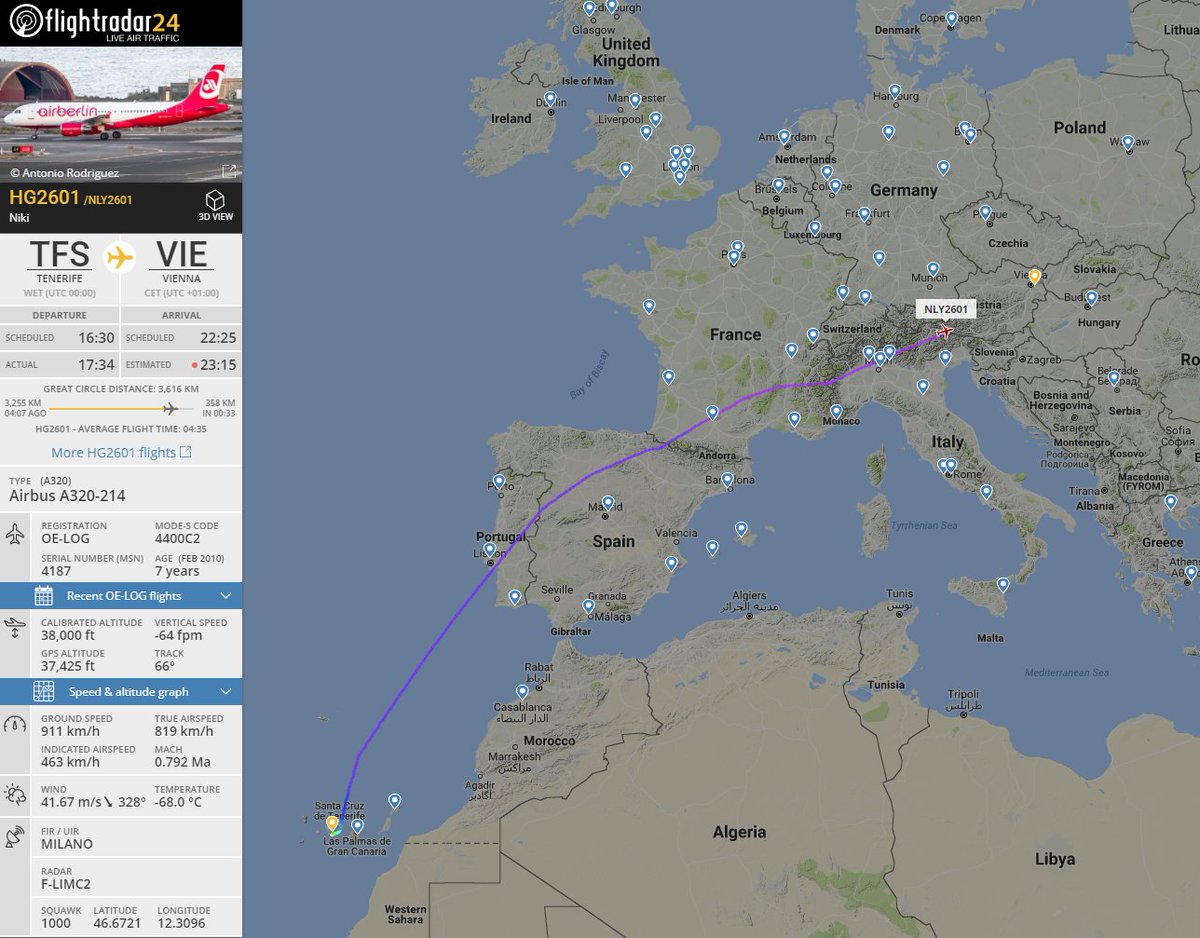 The final @flyniki flight is #HG2601 fro...