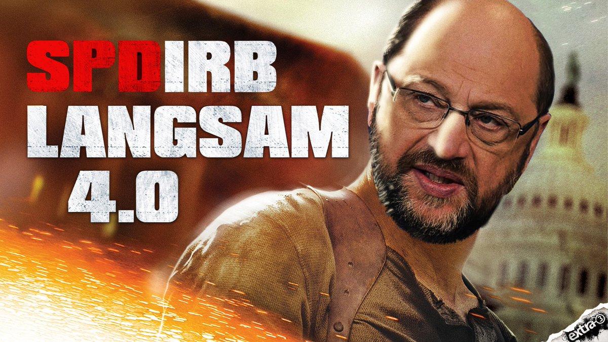 Das GroKo-Schicksal der SPD wird verfilmt! extra 3 kommt. 22:50 Uhr im NDR.