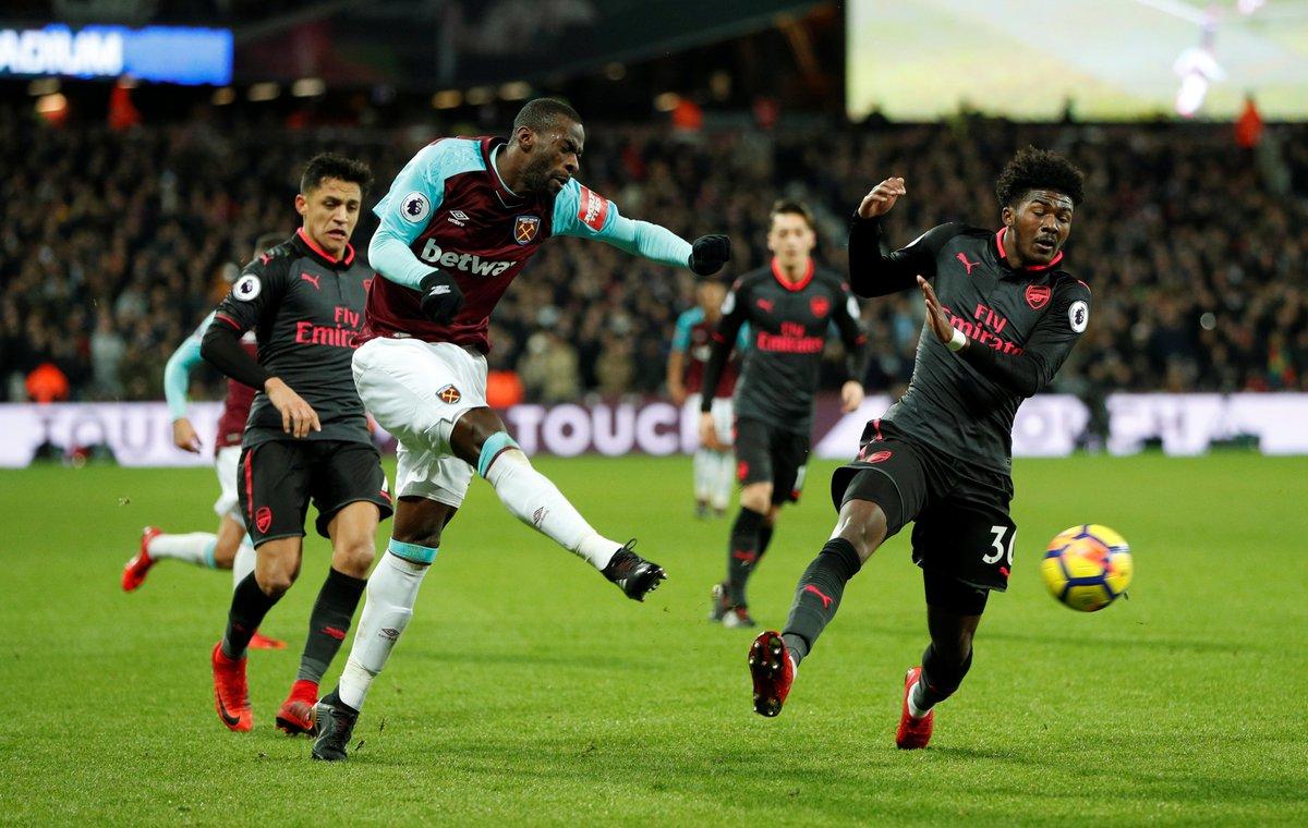 Англия, Премьер-лига: Вест Хэм — Арсенал