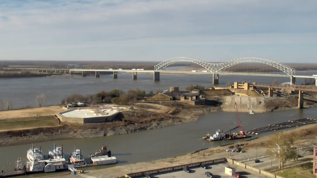 A great day in Downtown Memphis with yet another Cold front coming thru.  See what that does to our forecast on News Channel 3 at 4, 4:30, 5, 6 & 10pm tonight.