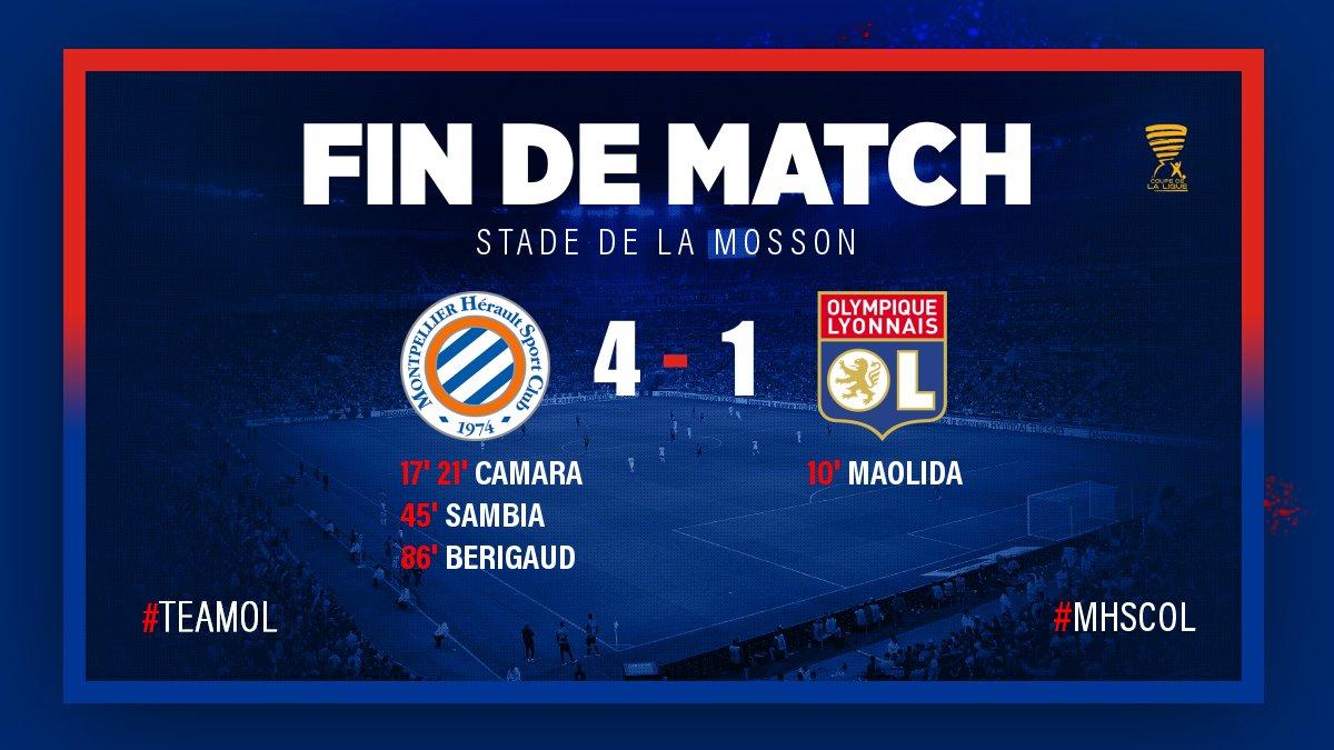 C'est fini au Stade de la Mosson où Mont...