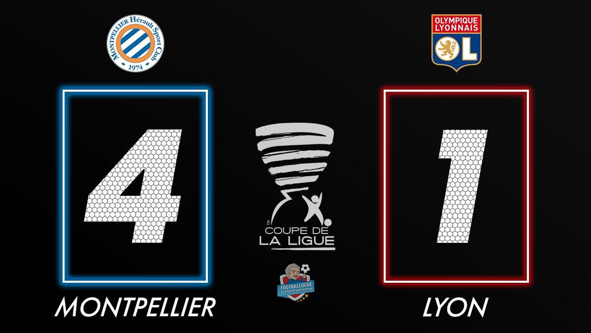 [#CDL🏆] MONTPELLIER 4-1 LYON  Montpellie...