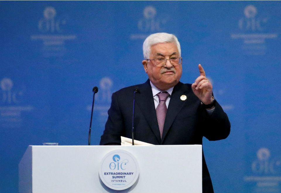 """'EUA não é mais mediador do processo de paz', anuncia Abbas. """"Trump quer dar Jerusalém de presente para Israel, como se estivesse dando uma porção de terras norte-americanas"""", disse presidente da ANP."""