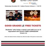 Thanks to @IndyFuel for providing this generous opportunity for our students! See you at the ice!