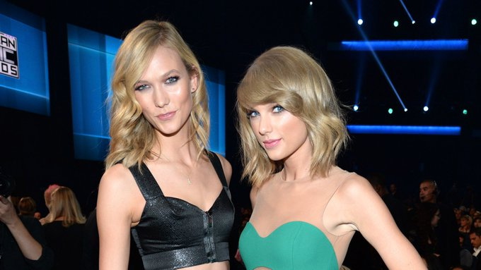 Karlie Kloss just squashed rumors that she has beef with Taylor Swift: