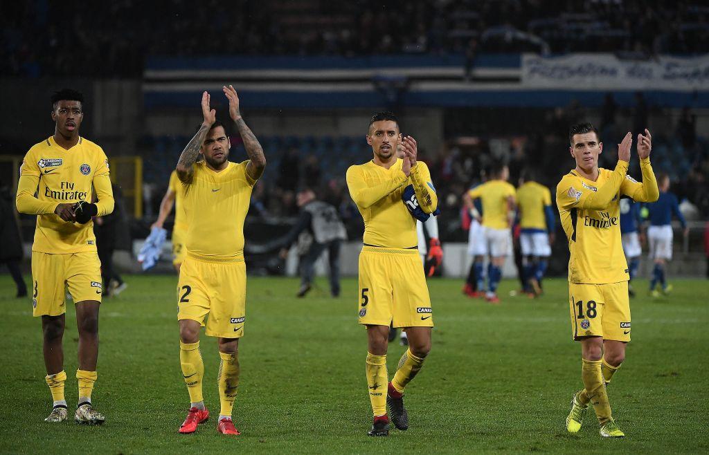 باريس سان جيرمان يفوز 4-2 على ستراسبورج...